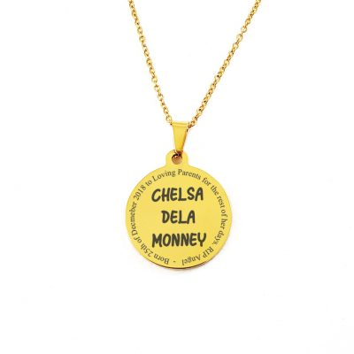 Personalised Necklace Pendant