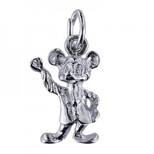 Sterling Silver Mickey Mouse