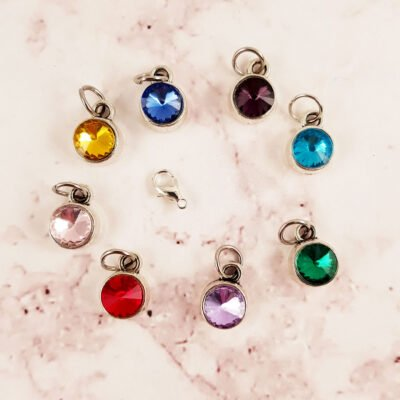 Birthstone Dangle Charms