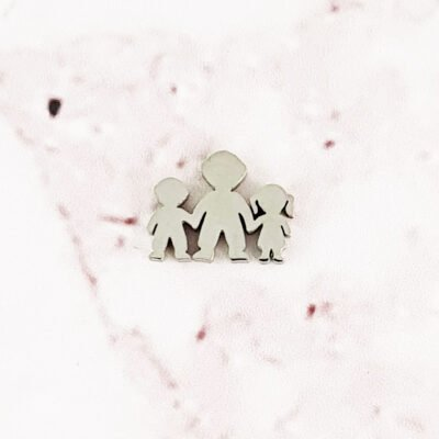 Parent and Children Floating Charm