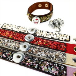 Snap Button Bracelets