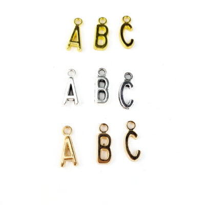 Letter Dangle Charms