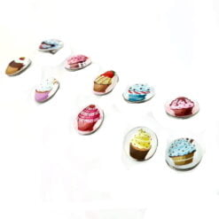 Snap Button Charm