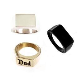 Sebastian Personalised Rings