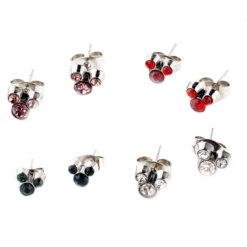 Mickey Birthstone Earrings