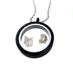 Tom and Jerry Floating Locket