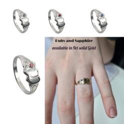 Birthstone Signet Rings